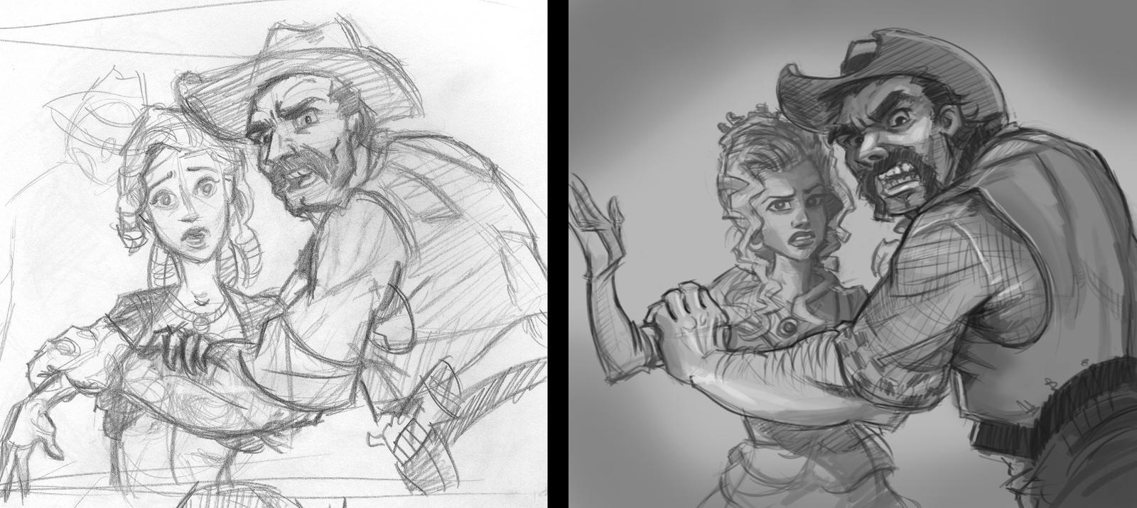 Sketch Remake by LucasZebroski