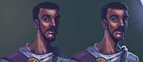 Character lighting study by LucasZebroski