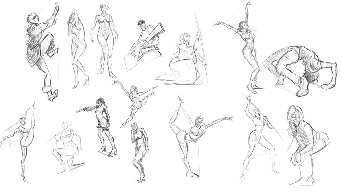 Anatomy Study by LucasZebroski