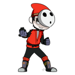 Strat Commission 4 - Shy Guy Mii Fighter