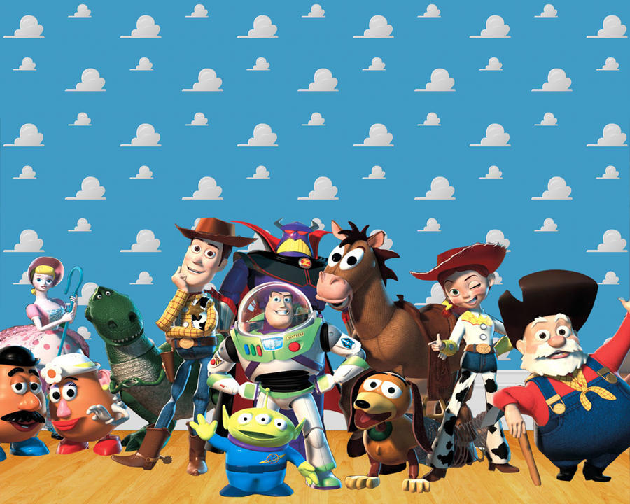 Toy Story x mii by viiveunaa1viida