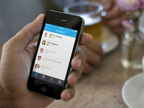 Interface: Skype on iOS 7