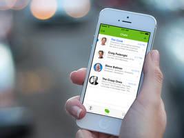 Interface: WhatsApp on iOS 7 by mppagano