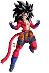 Pan Super Saiyan 4