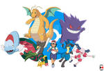 Ash's Galar team