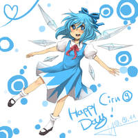 Happy Cirnoday by Melonenbrot