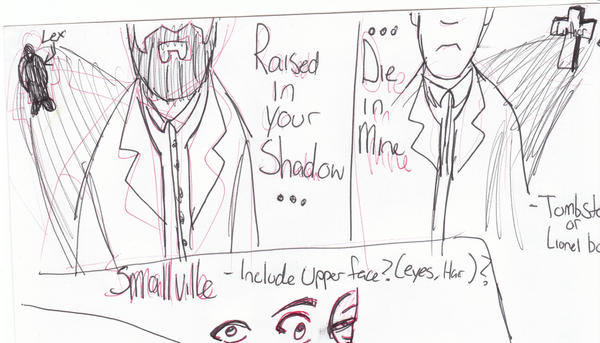 Smallville Descent ROUGH DRAFT by rubinator