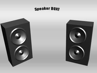 Speaker box by Tokahashi
