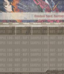 Gundam Seed: Destiny Layout by Tokahashi