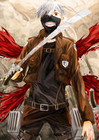 Attack on Ghoul by HirokaChii