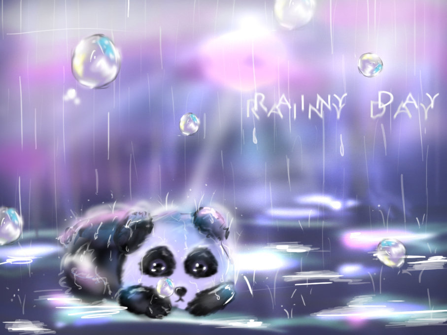 Little rainy day... by HimeChie