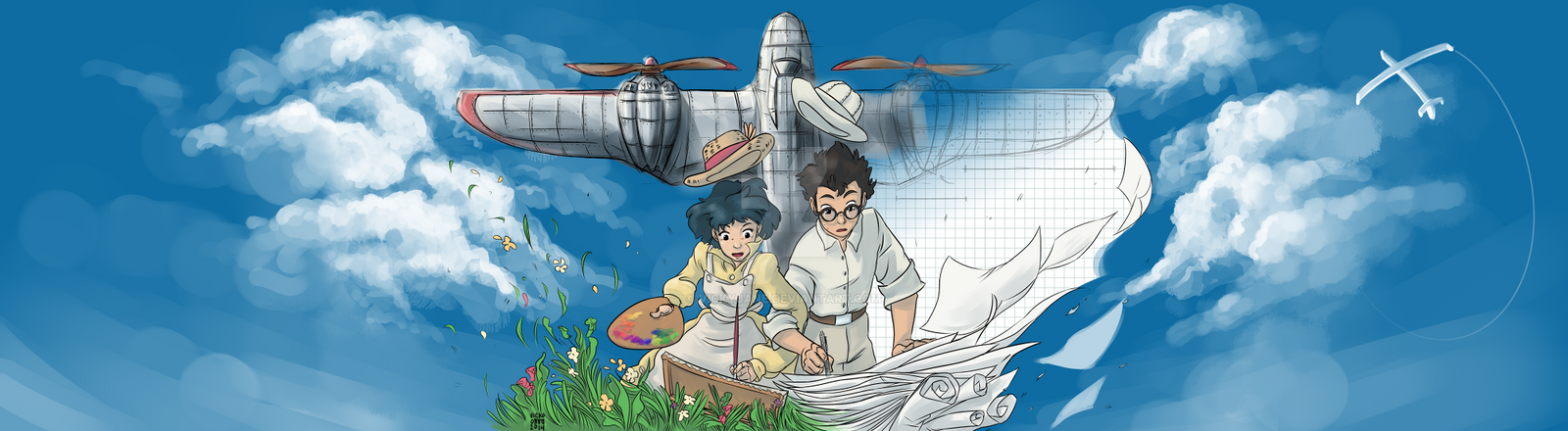 The Wind Rises Contest by vickyjane