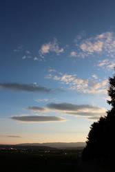 Almost Night Sky