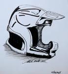 #inktober Helmet
