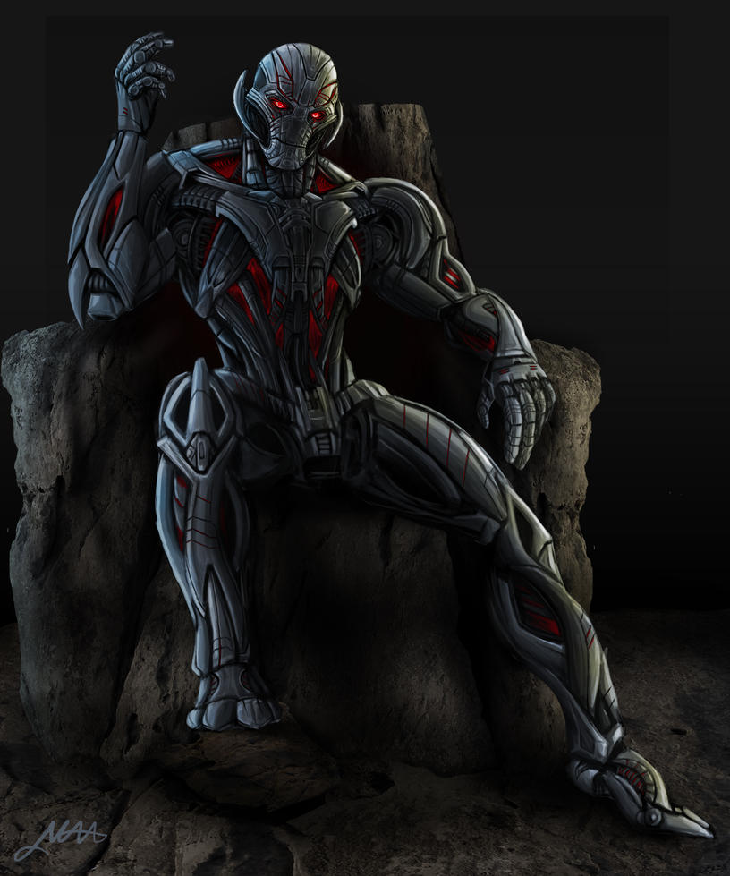 Avengers Age Of Ultron By Iloegbunam On Deviantart: Ultron By Nytrone On DeviantArt