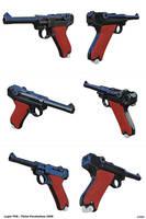 Luger P08 / Pistol Parabellum 1908 by kvserg