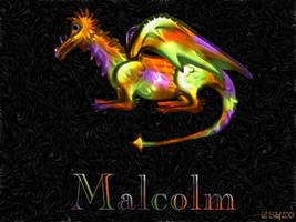 Malcolm the Dragon by mainbearing