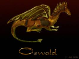 Oswald the Dragon by mainbearing