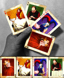 Atypical Playing Cards II by cristallize