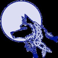 Moon and Wolf Tattoo by chibiyin