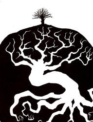 Underground Tree by chibiyin