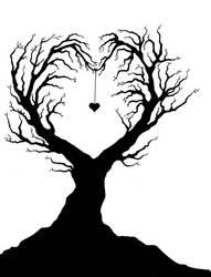 Heart Tree by chibiyin