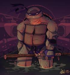 Ninja Turtles tribute to Donatello