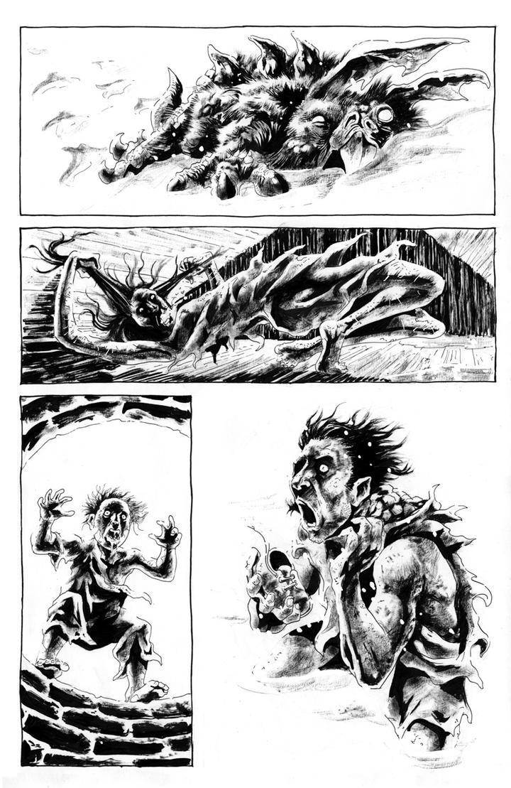 Chtulhu Tales 8 by AxelMedellin
