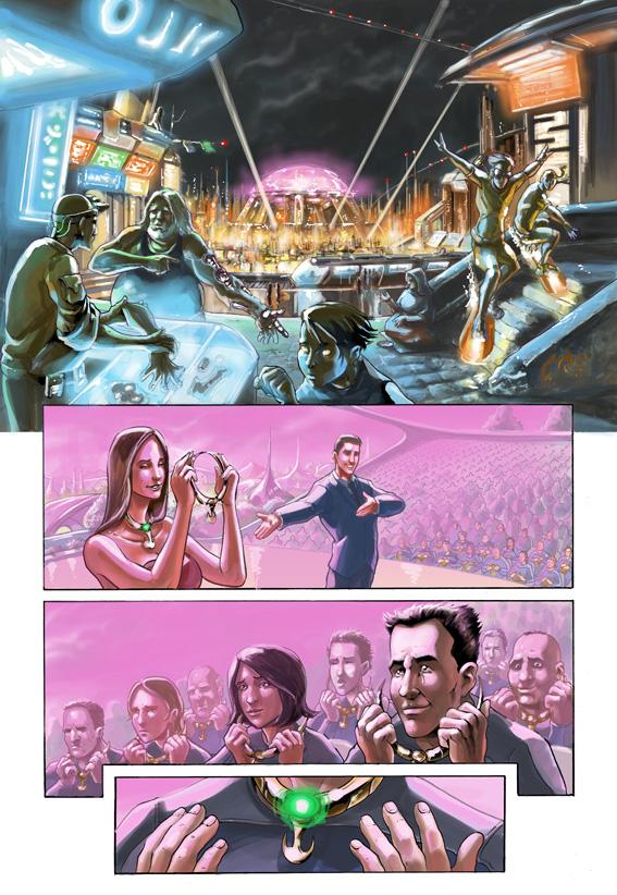 Fourth story in Heavy Metal... by AxelMedellin