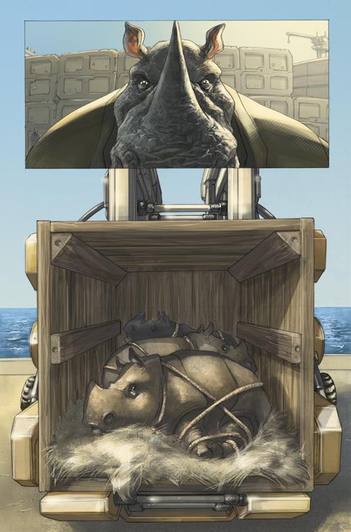 Elephantmen 31 by AxelMedellin
