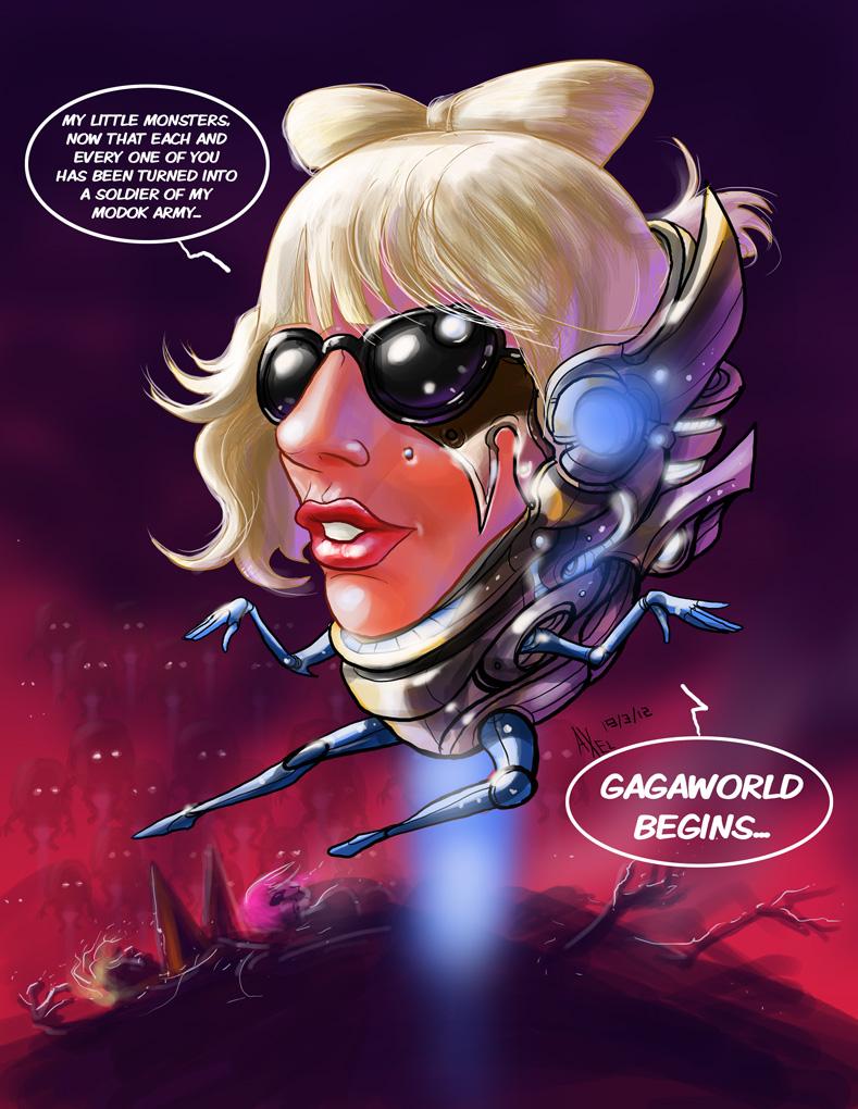 TLIID 82: MODOK Gaga by AxelMedellin