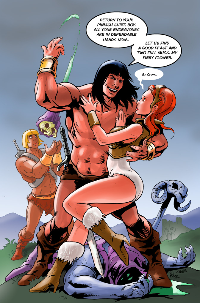 TLIID 83: Conan meets He-Man by AxelMedellin
