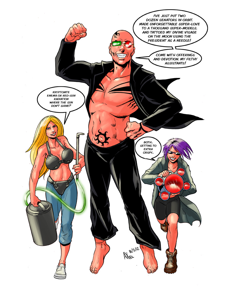 TLIID 89: Spider Jerusalem with Superman powers by AxelMedellin