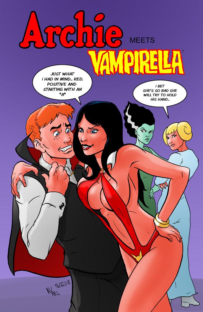 TLIID 93: Archie Meets Vampirella by AxelMedellin