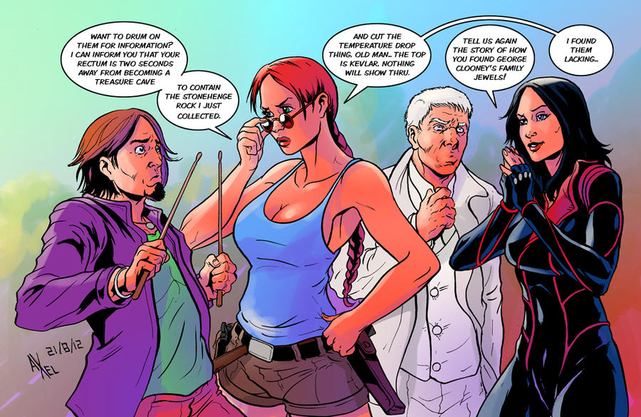 TLIID 103. Lara Croft meets Planetary by AxelMedellin
