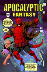 TLIID 106. Hellboy in Amazing Fantasy 15 by AxelMedellin