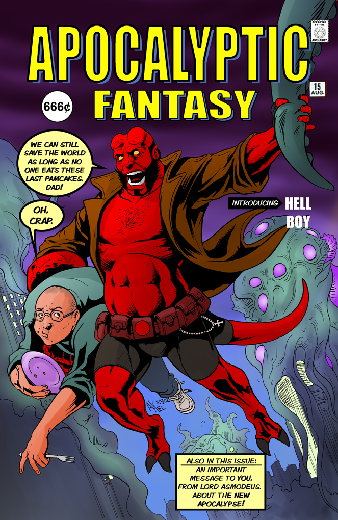 TLIID 106. Hellboy in Amazing Fantasy 15 by AxelMedellin