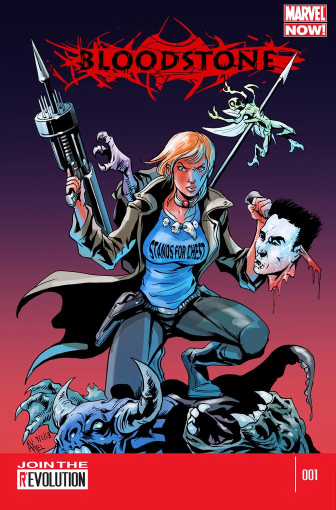 TLIID 121. Bloodstone, Marvel NOW! by AxelMedellin