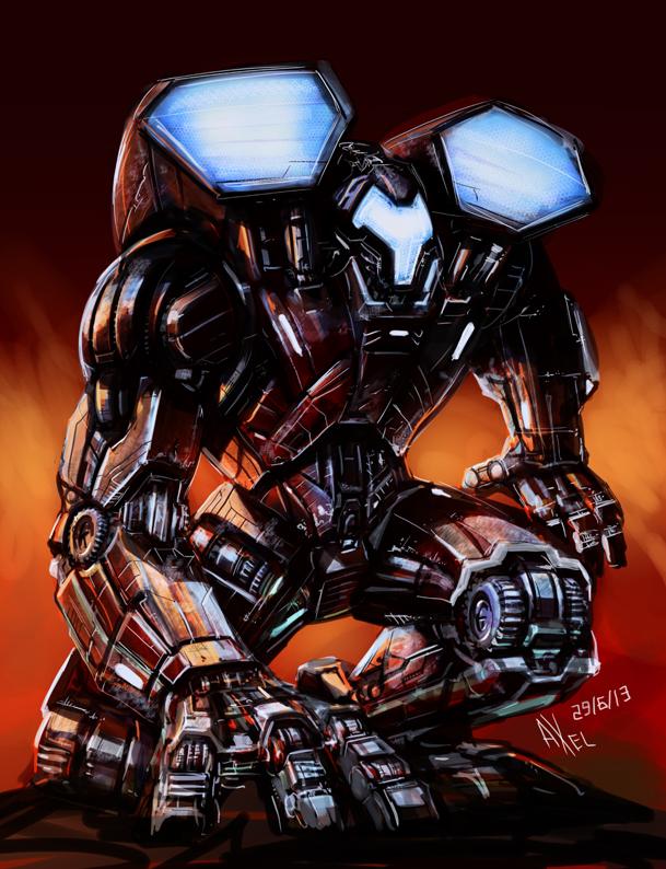 Heartbreaker robot by AxelMedellin