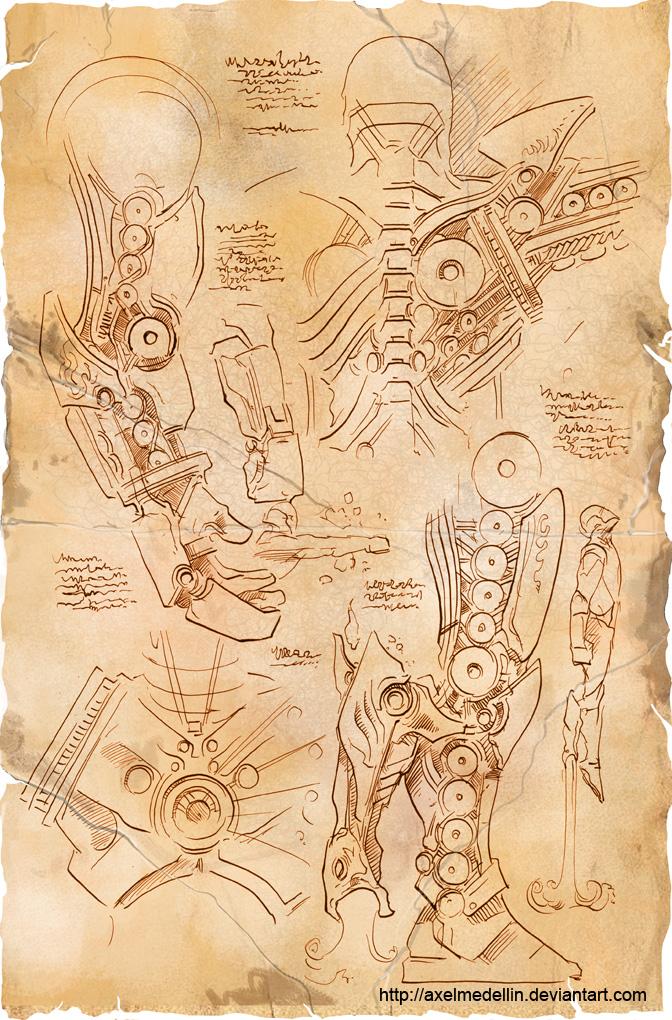 TLIID 156. Da Vinci's Iron Man, part 1 by AxelMedellin