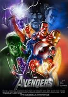 Avengers80s movie casting by AxelMedellin