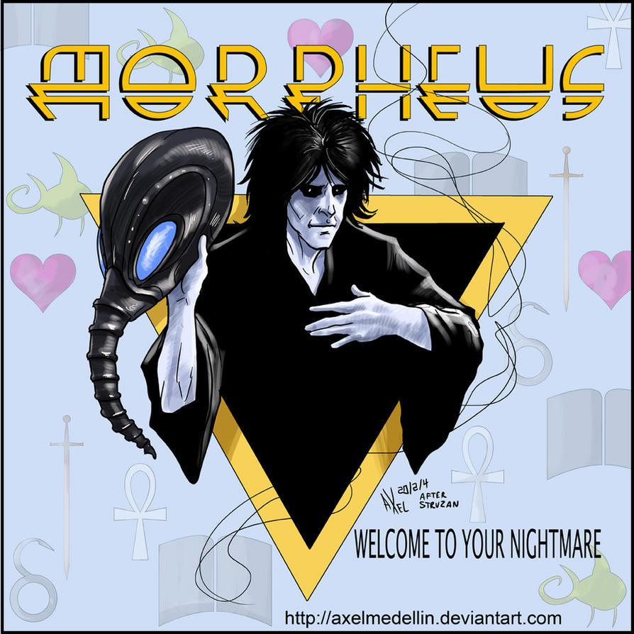 TLIID 178. Morpheus as Alice Cooper by AxelMedellin
