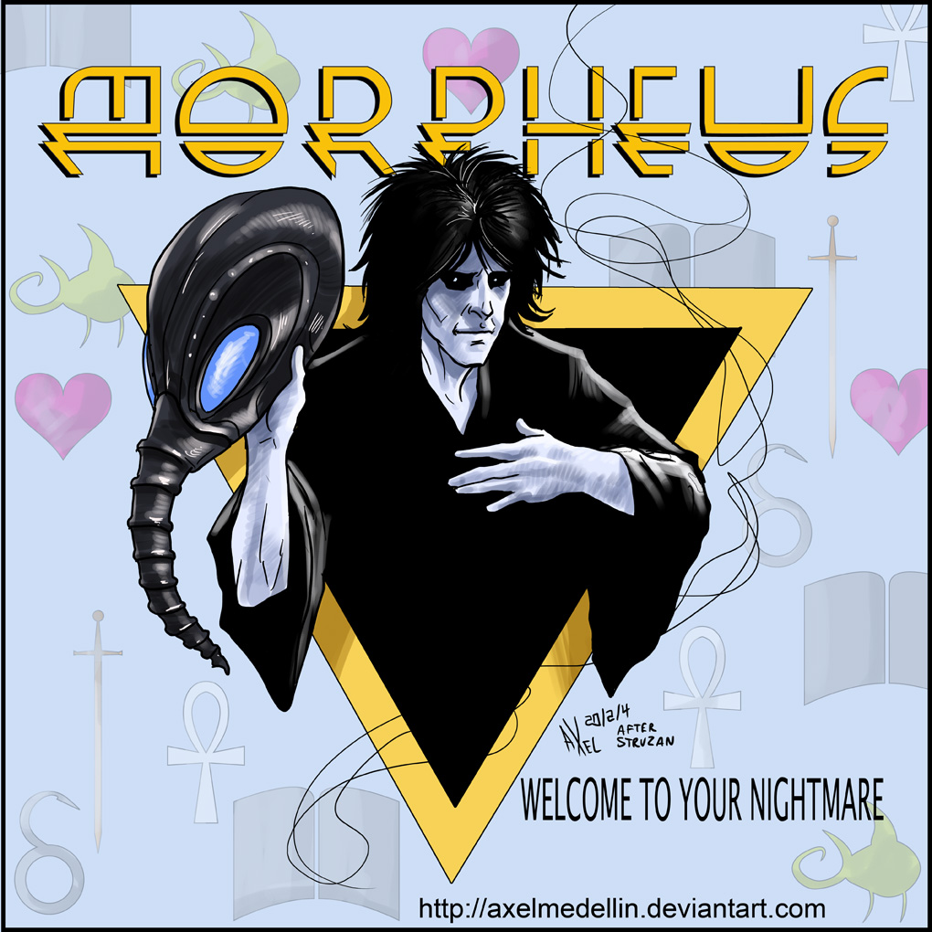 TLIID 178. Morpheus as Alice Cooper by AxelMedellin