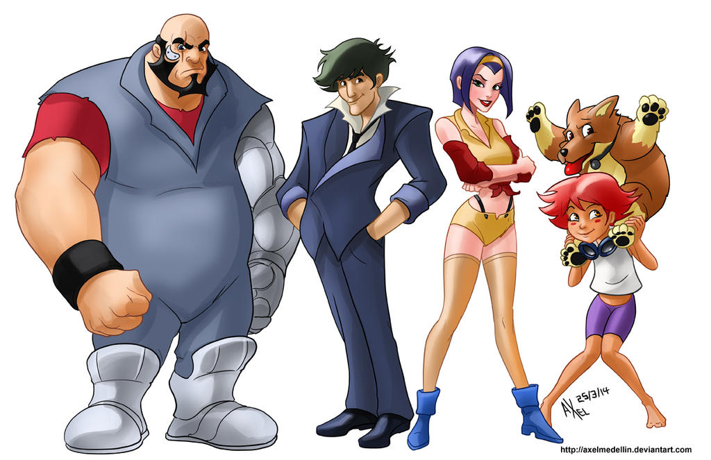 TLIID 183. A very Disney Cowboy Bebop by AxelMedellin