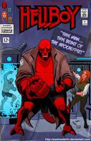 TLIID 190. Hellboy in Fantastic Four 51 by AxelMedellin