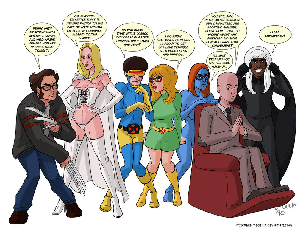TLIID 191. The Big XBang Theory. by AxelMedellin