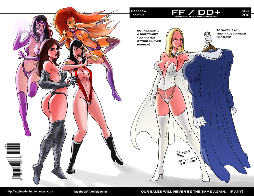 TLIID 200. Emma, Witchblade, Vampirella, oh, my. by AxelMedellin