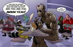 TLIID202. When Rocket met Groot, 1 by AxelMedellin