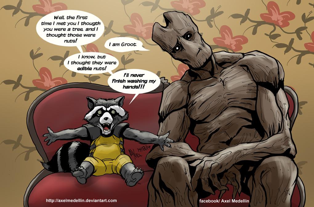 TLIID 202. When Rocket met Groot, 2 by AxelMedellin