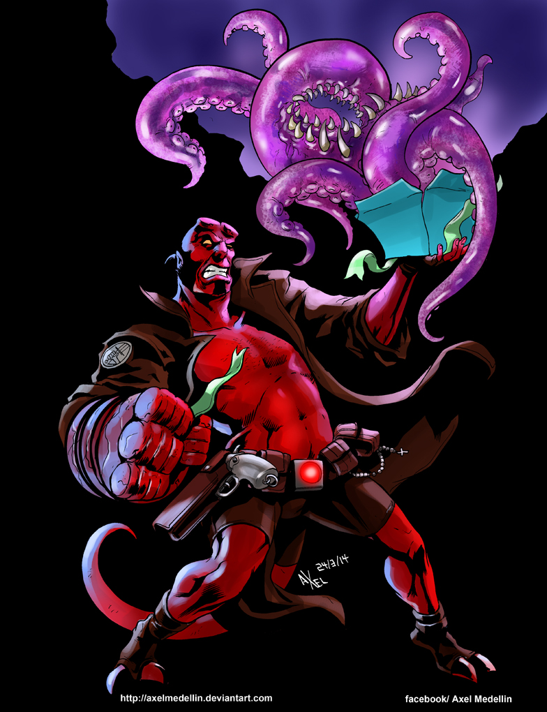 20 years of Hellboy by AxelMedellin